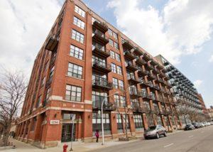 West Loop - 1250 West Van Buren Street Unit 215, Chicago, IL 60607 - Front View
