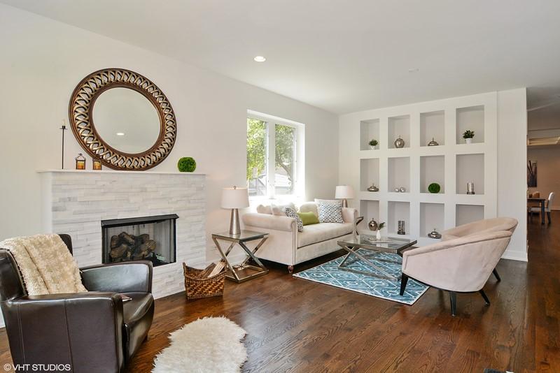 Humboldt Park - 1732 North California Avenue Unit 1 - Chicago, IL 60647 - Living Room