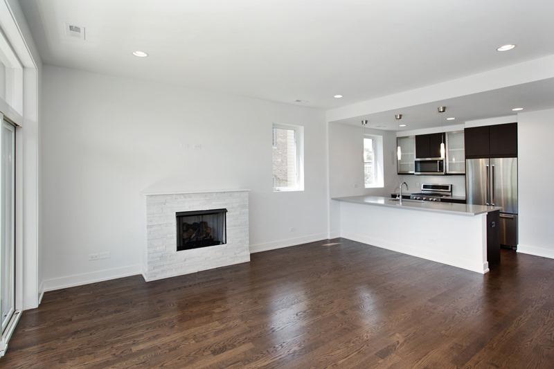 Humboldt Park - 1732 North California Avenue Unit 2 - Chicago, IL 60647 - Living Room