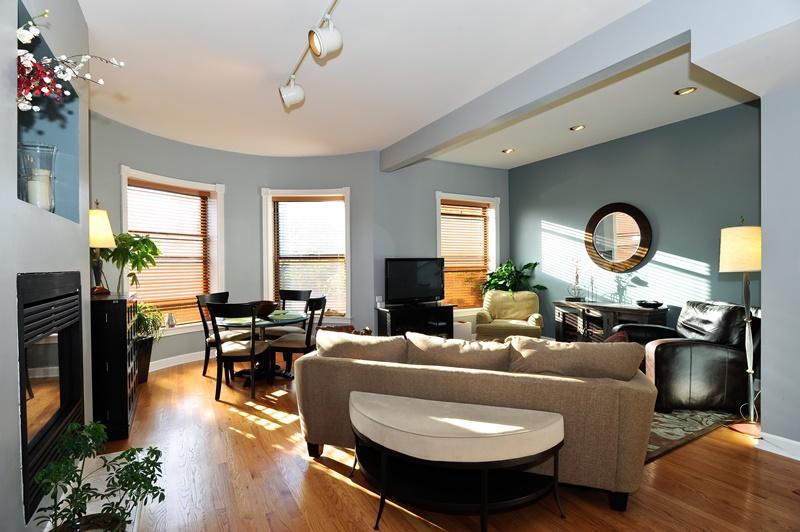 Buena Park - 4229 North Kenmore Avenue Unit 3S, Chicago, IL 60613 - Living Room