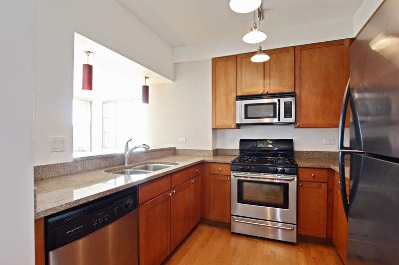 West Loop - 200 North Jefferson Street Unit 1501, Chicago, IL 60661 - Kitchen