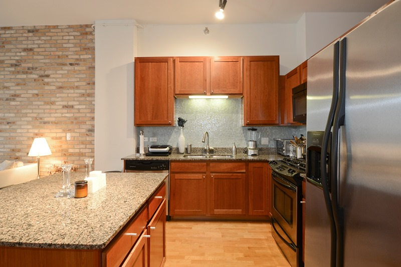 West Loop - 901 West Madison Street Unit 708, Chicago, IL 60607 - Kitchen