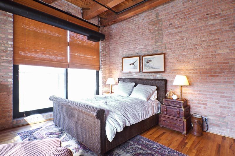 West Loop - 1250 West Van Buren Street Unit 215, Chicago, IL 60607 - Master Bedroom