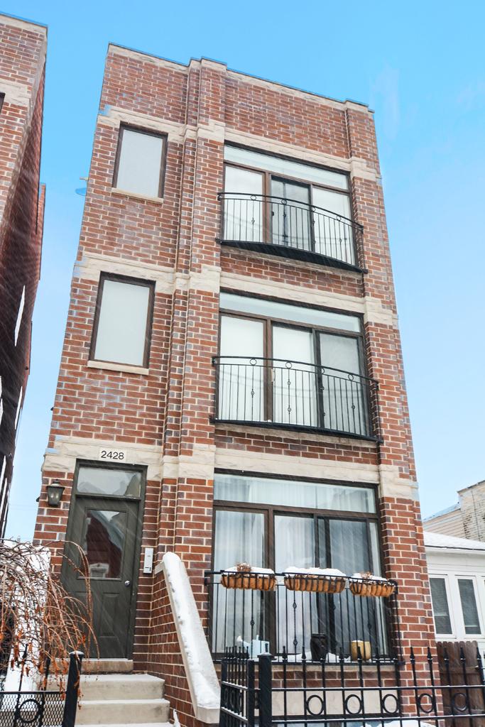 West Town - 2428 West Augusta Boulevard Unit 2, Chicago, IL 60622 - Front View
