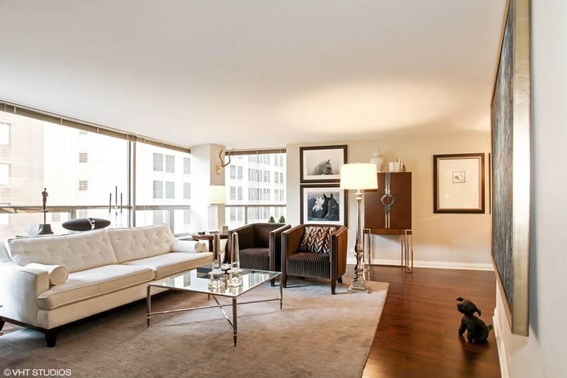 Streeterville - 110 East Delaware Place Unit 502, Chicago, IL 60611 - Living Room