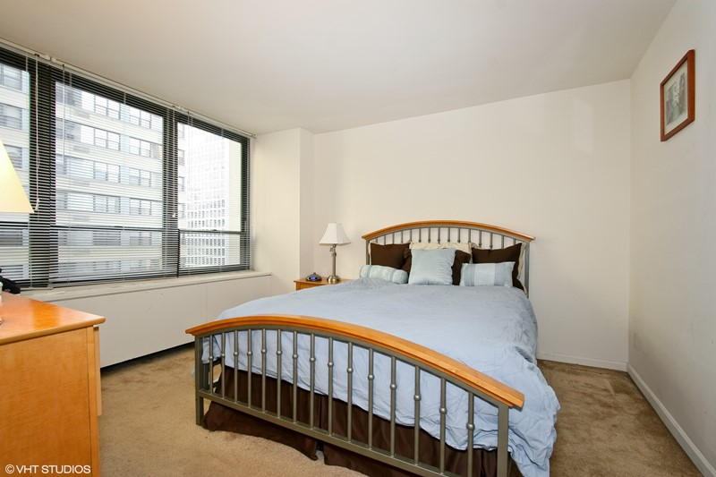 Streeterville - 222 East Pearson Street Unit 905, Chicago, IL 60611 - Bedroom