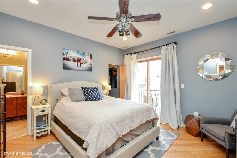 Wicker Park - 1621 West North Avenue Unit 2E, Chicago, IL 60622 - Master Bedroom