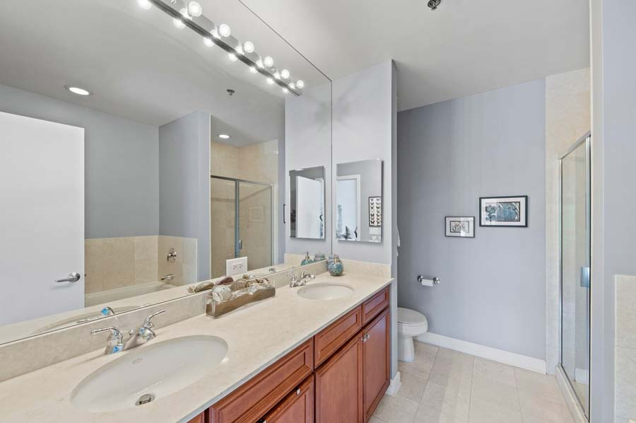 South Loop - 1841 South Calumet Avenue Unit T2, Chicago, IL 60616 - Master Bathroom