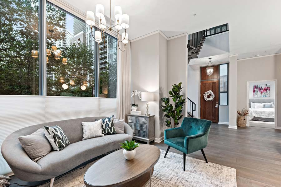 Lakeshore East - 201 N Westshore Dr #105, Chicago, IL 60601 - Living Room
