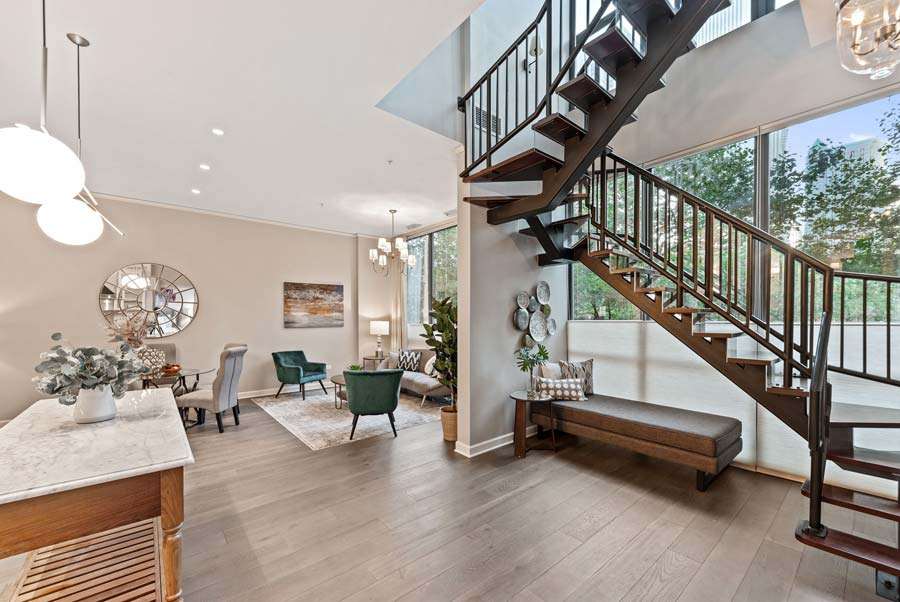 Lakeshore East - 201 N Westshore Dr #105, Chicago, IL 60601 - Stairs