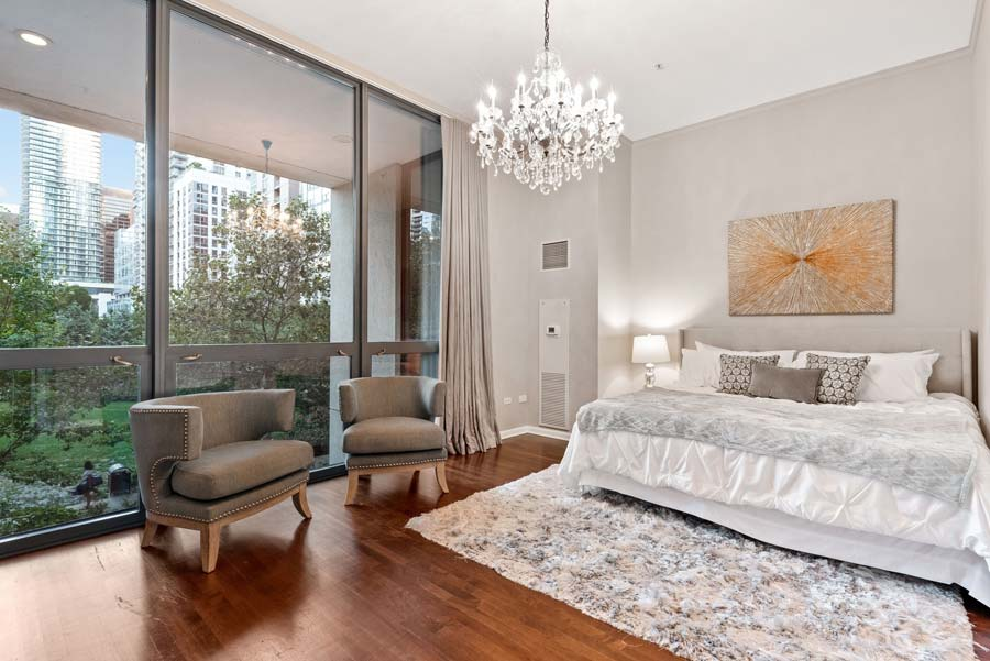 Lakeshore East - 201 N Westshore Dr #105, Chicago, IL 60601 - Master Bedroom