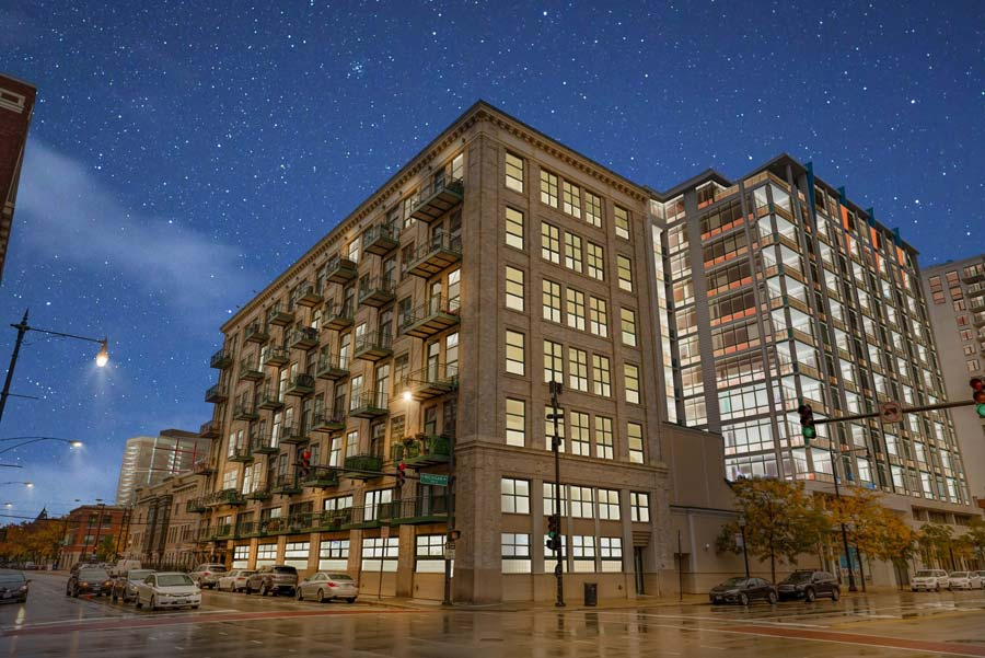 South Loop - 1801 S Michigan Ave Unit 204, Chicago, IL 60616 - Front View