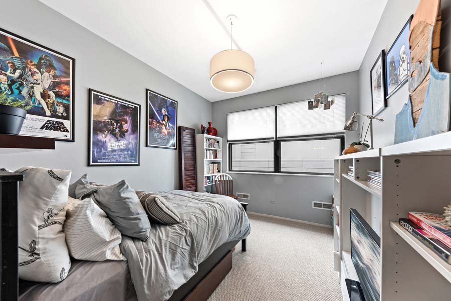 South Loop - 1801 S Michigan Ave Unit 204, Chicago, IL 60616 - Bedroom